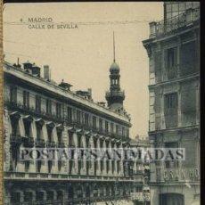 Postales: (A01083) MADRID - CALLE DE SEVILLA - HAUSER Y MENET Nº4. Lote 35701342