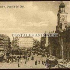 Postales: (A01084) MADRID - PUERTA DEL SOL - GRAFOS Nº69. Lote 35701344