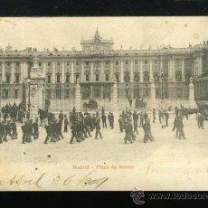 Postales: (A01105) MADRID - PLAZA DE ARMAS - PZ Nº10149. Lote 35701456