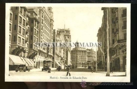 (A01113) MADRID - AVENIDA DE EDUARDO DATO (Postales - España - Comunidad de Madrid Antigua (hasta 1939))