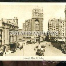 Postales: (A01114) MADRID - PLAZA DEL CALLAO. Lote 35701512