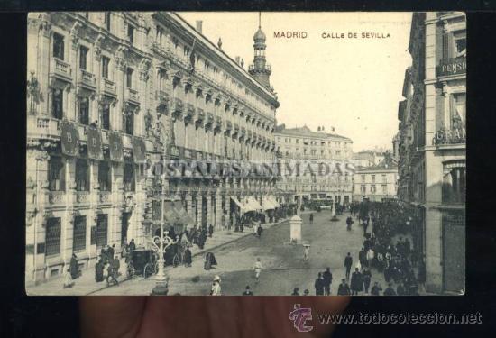 (A01140) MADRID - CALLE DE SEVILLA - SAMSOT Y MISSE Nº3 (Postales - España - Comunidad de Madrid Antigua (hasta 1939))