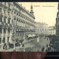 Postales: (A01140) MADRID - CALLE DE SEVILLA - SAMSOT Y MISSE Nº3. Lote 35701696