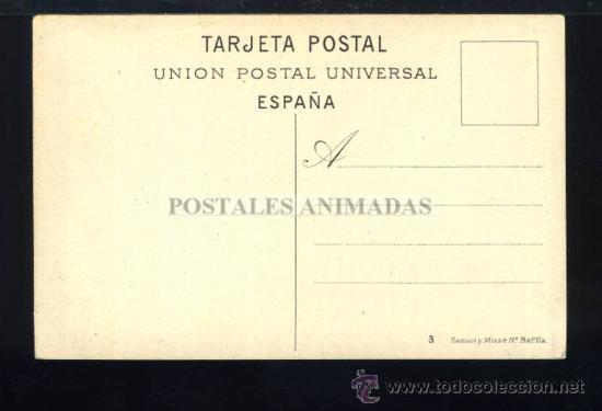 Postales: (A01140) Madrid - Calle De Sevilla - Samsot Y Misse Nº3 - Foto 2 - 35701696