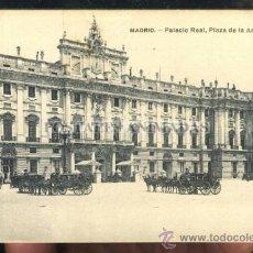 Postales: MADRID - PALACIO REAL - PLAZA DE LA ARMERIA - LACOSTE. Lote 35701813