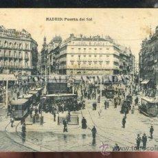 Postales: MADRID - PUERTA DEL SOL - HAUSER Y MENET. Lote 35701826