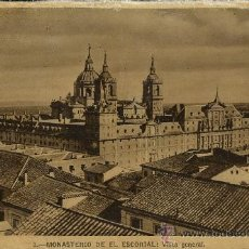 Postales: MONASTERIO DE EL ESCORIAL.VISTA GENERAL. Lote 35736539