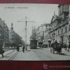 Postales: MADRID - CALLE DE ALCALA - POSTAL FOTOGRAFICA. Lote 35998239