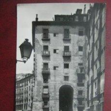 Postales: MADRID - ARCO DE CUCHILLEROS - POSTAL FOTOGRAFICA. Lote 35998253
