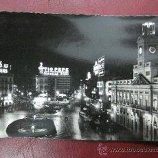 Postales: MADRID - PUERTA DEL SOL - POSTAL FOTOGRAFICA. Lote 35998294