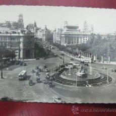 Postales: MADRID - PLAZA DE LA CIBELES - POSTAL FOTOGRAFICA. Lote 35998319