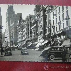 Postales: MADRID - AVENIDA DE JOSE ANTONIO - POSTAL FOTOGRAFICA. Lote 35998366