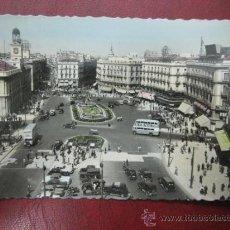 Postales: MADRID - PUERTA DEL SOL - POSTAL FOTOGRAFICA. Lote 35998452