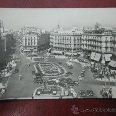 Postales: MADRID - PUERTA DEL SOL - POSTAL FOTOGRAFICA. Lote 35998466