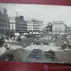 Postales: MADRID - PUERTA DEL SOL - POSTAL FOTOGRAFICA. Lote 35998561