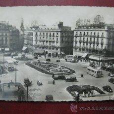 Postales: MADRID - PUERTA DEL SOL - POSTAL FOTOGRAFICA. Lote 35998596