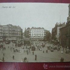 Postales: MADRID - PUERTA DEL SOL - POSTAL FOTOGRAFICA. Lote 35998620