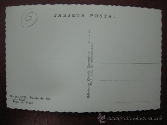 Postales: MADRID - PUERTA DEL SOL - POSTAL FOTOGRAFICA - Foto 2 - 35998452