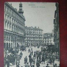 Postales: MADRID - CALLE DE SEVILLA. Lote 36006066