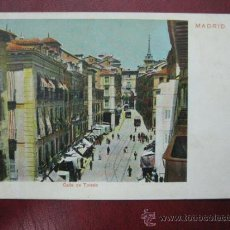 Postales: MADRID - CALLE DE TOLEDO. Lote 36006121