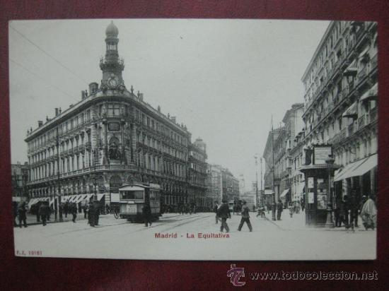 MADRID - LA EQUITATIVA (Postales - España - Comunidad de Madrid Antigua (hasta 1939))