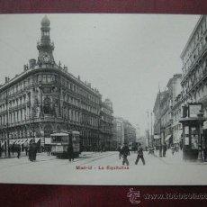 Postales: MADRID - LA EQUITATIVA. Lote 36006124