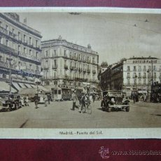 Postales: MADRID - PUERTA DEL SOL. Lote 36006134