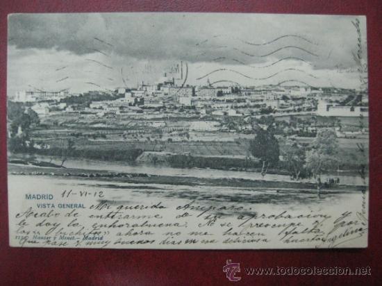MADRID - VISTA GENERAL (Postales - España - Comunidad de Madrid Antigua (hasta 1939))