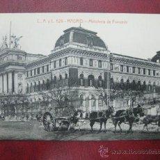 Postales: MADRID - MINISTERIO DE FOMENTO. Lote 36006179