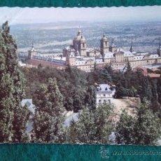Postales: MADRID-V11- ESCRITA-EL ESCORIAL-. Lote 36070430