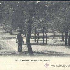 Postales: MADRID.- BOSQUET AU BETIRA. Lote 36157311