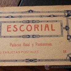 Postales: 20 POSTALES DEL ESCORIAL PALACIO REAL Y PANTEONES DE HAUSER Y MENET CUADERNO II. Lote 36315574