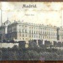 Postales: MADRID. PALACIO REAL. DESPLEGABLE CON VARIAS VISTAS. (ED. EDUARDO SCHILLING). . Lote 36366644