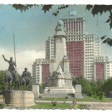 Postales: MADRID.-PLAZA DE ESPAÑA.-MONUMENTO A COLON.-EDICION GARCIA GARRABELLA Nº78. Lote 36458490