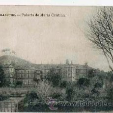 Postales - MADRID ARANJUEZ PALACIO DE MARIA CRISTINA. FOTOTIPA J. ROIG. ESCRITA - 36460547