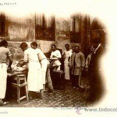Postales: MADRID, HISTORIA DEL PAN AMASANDO Nº 8 FOT . LAURENT. Lote 36559665
