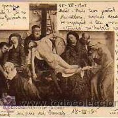 Postales: EL DESCENDIMIENTO DE LA CRUZ. VAN DER WEYDEN. HAUSER Y MENET 974. REVERSO SIN DIVIDIR. CIRCULADA.. Lote 36660552