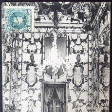 Postales: POSTAL MADRID PALACIO REAL UNO DE LOS SALONES DE PORCELANA . MP CA AÑO 1900 .. Lote 36873219