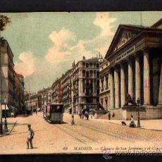 Cartes Postales: MADRID. CARRERA DE SAN JERÓNIMO Y EL CONGRESO. NO CIRCULADA . LL. . Lote 36781830