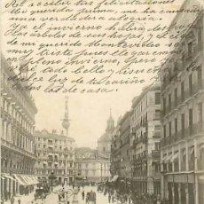 Postales: MADRID CALLE DE SEVILLA. Lote 36845404