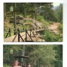 Postales: 2 POSTALES DE CERDEDILLA (MADRID) 1981. Lote 36972463