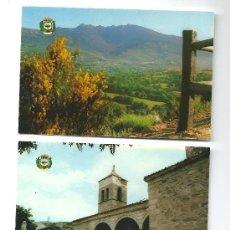 Postales: 2 POSTALES DE CERDEDILLA (MADRID) 1981. Lote 36972562