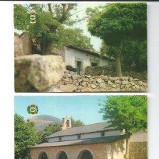 Postales: 2 POSTALES DE CERDEDILLA (MADRID) 1981. Lote 36972594