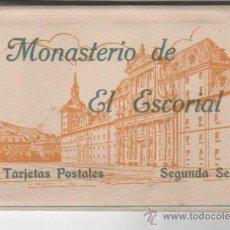 Postales: COLECCIÓN DE 20 POSTALES DE EL MONASTERIO DE EL ESCORIAL ( MADRID ). FOTOGRAFÍA HAUSER Y MENET. . Lote 37033570