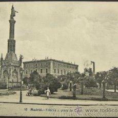 Postales: 16 MADRID - ESTATUA Y PLAZA DE COLON - J. LACOSTE - CERVANTES 28. Lote 37087915