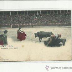Postales: CORRIDA DE TOROS, GUERRITA EN UN QUITE.HAUSER Y MENET.. Lote 37102164