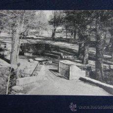 Postales: POSTAL SAN LORENZO DE EL ESCORIAL FOTOTIPIA THOMAS - BARCELONA ED.TOMÁS MORA SIN CIRCULAR. Lote 37195895