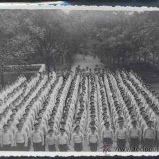 Postales: MADRID.- POSTAL FOTOGRÁFICA DE ALUMNOS DEL REFORMATORIO DEL SAGRADO CORAZON DE JESUS-AÑO 1944. Lote 37192534
