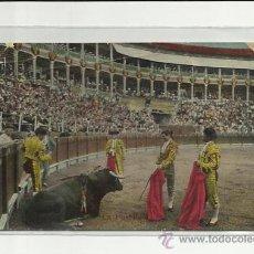Postales: POSTAL TAURINA, LA PUNTILLA.MADRID 1910.. Lote 37243467