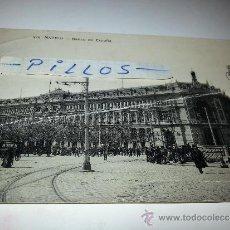 Postales: POSTAL MANUSCRITA AÑO 1912 BANCO DE ESPAÑA. Lote 37423134